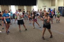 Genny begins choreography