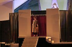 Mordechai in sackcloth